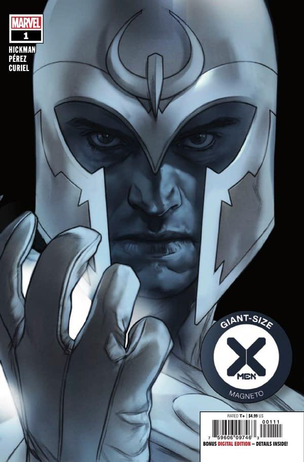Giant-Size X-Men: Magneto #1 cover. Credit: Marvel Comics.