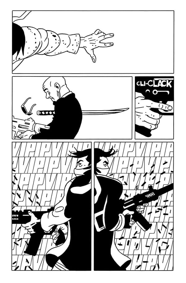 Ninjak #1 interior page. Credit: Valiant Comics.