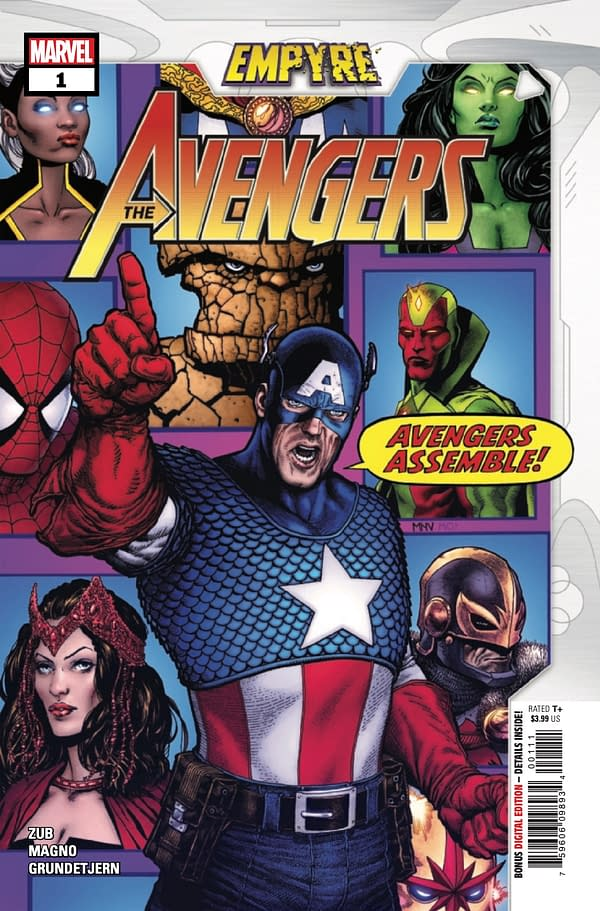 Empyre: The Avengers #1 cover. Credit: Marvel Comics.