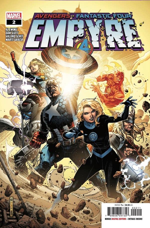 Empyre #2 cover. Credit: Marvel Comics.