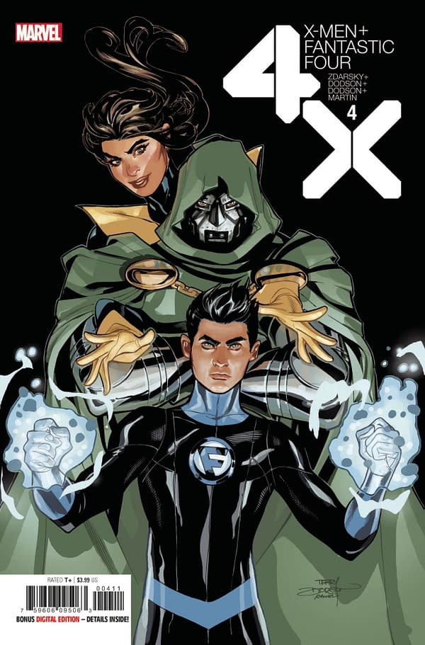 The cover to X-Men/Fantastic Four #4