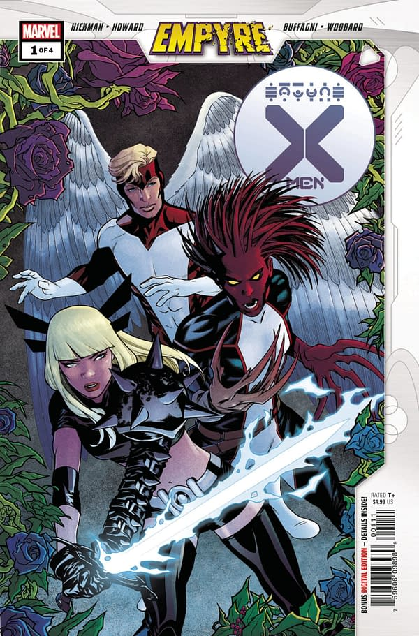 The cover to Empyre: X-Men #1