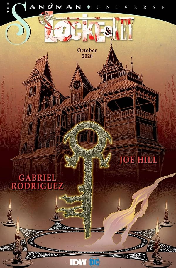 Sandman Crossover With Locke & Key Has An Early #0 in October