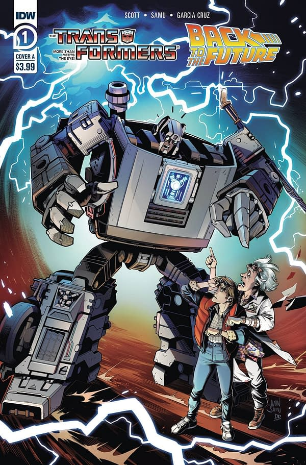 What If We Were? IDW Publishing Full October 2020 Solicitations