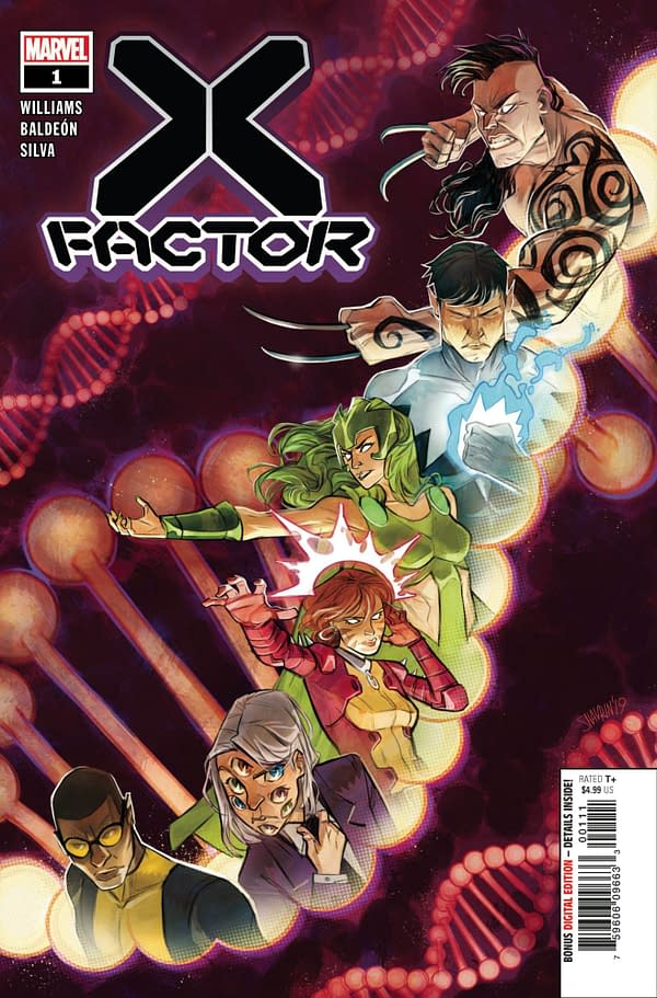 The cover to X-Factor #1
