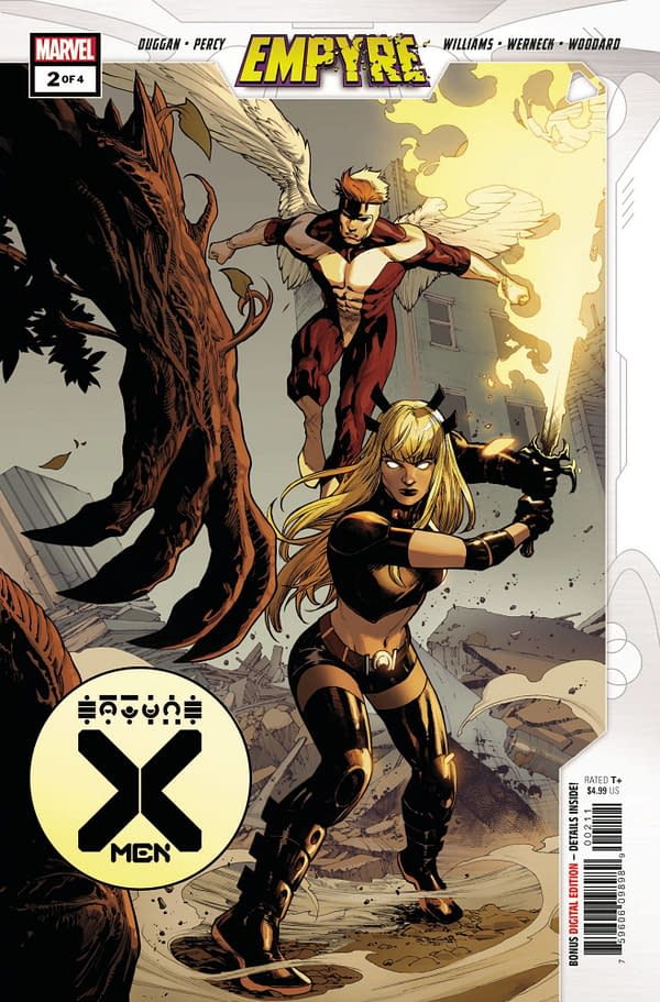 The cover to Empyre: X-Men #2