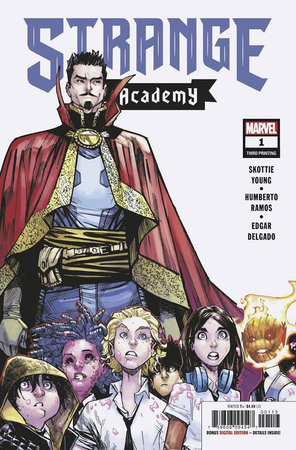 Strange Academy, Thor and Wynd Top Advance Reorders
