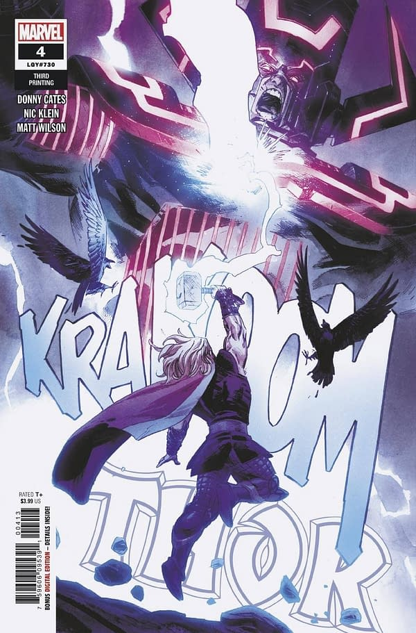 Second Printings-Thor, Captain Marvel, X-Factor, Undiscovered Country