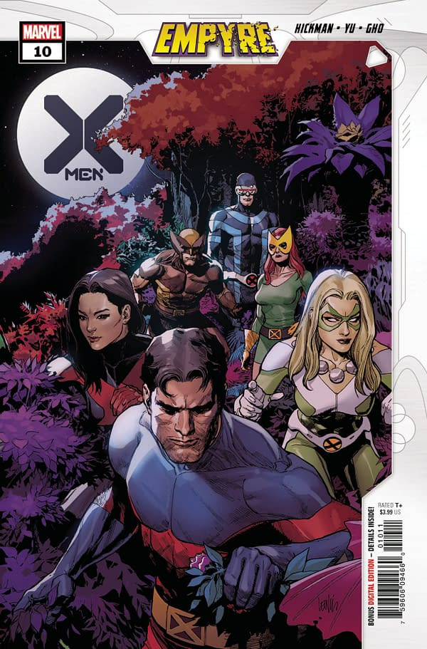 The cover to X-Men #10
