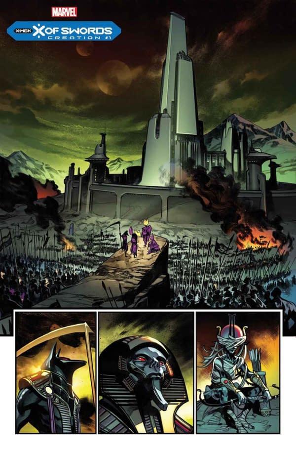 X-Men: X Of Swords: Creation - A Preview