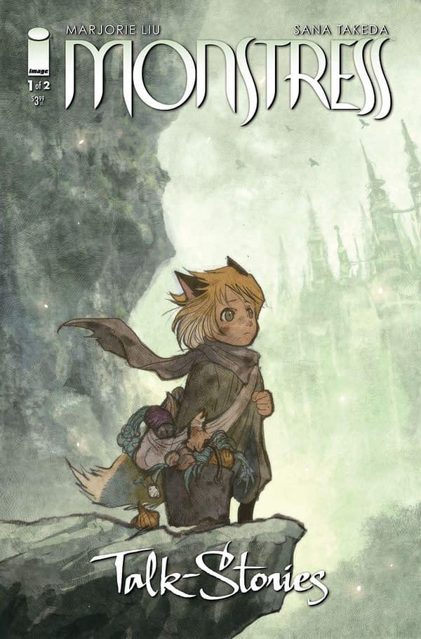 Monstress: Talk-Stories cover. Credit: Image Comics