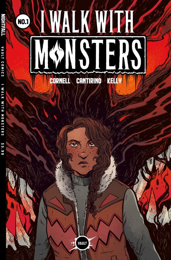 """Paul Cornell Brings """"I Walk With Monsters"""" to Vault Comics, November"""
