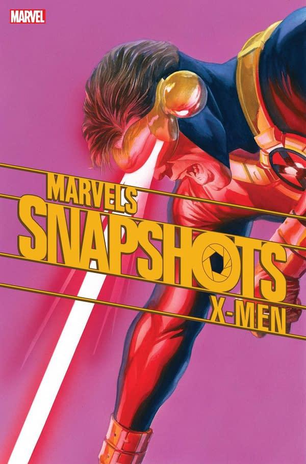 Jay Edidin writes Cyclops in X-Men: Marvels Snapshots. Credit: Marvel