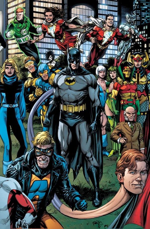 DC Repurposes Gary Frank Generations Work For Death Metal Covers