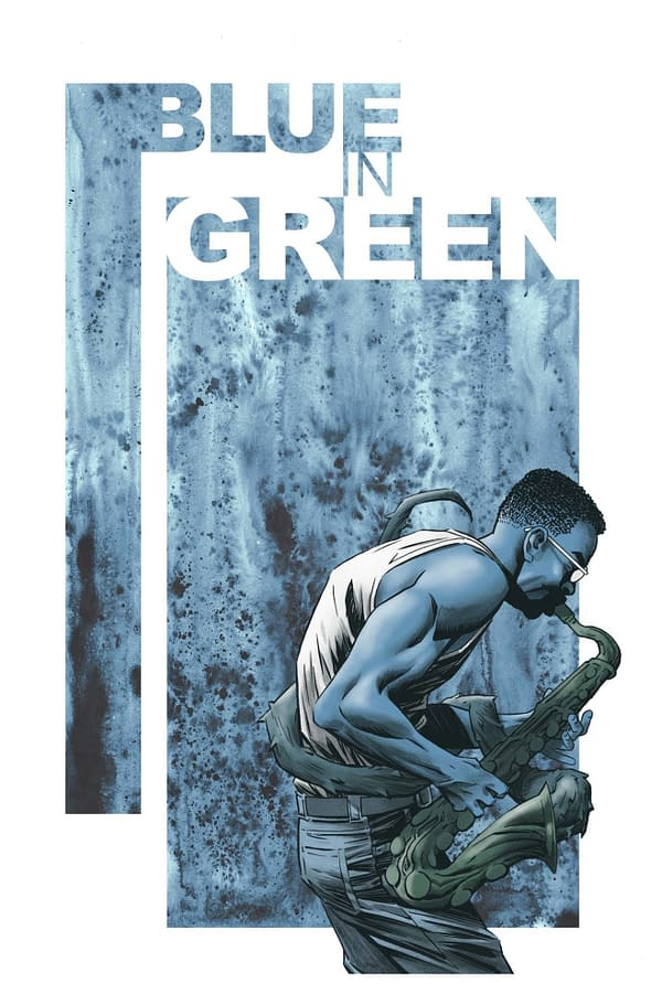 Don't Forget Ram V's Graphic Novel, Blue In Green, On FOC Today