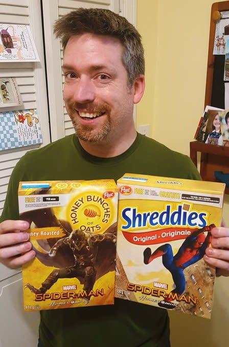 Spider-Man Jim Zub & Post Cereal