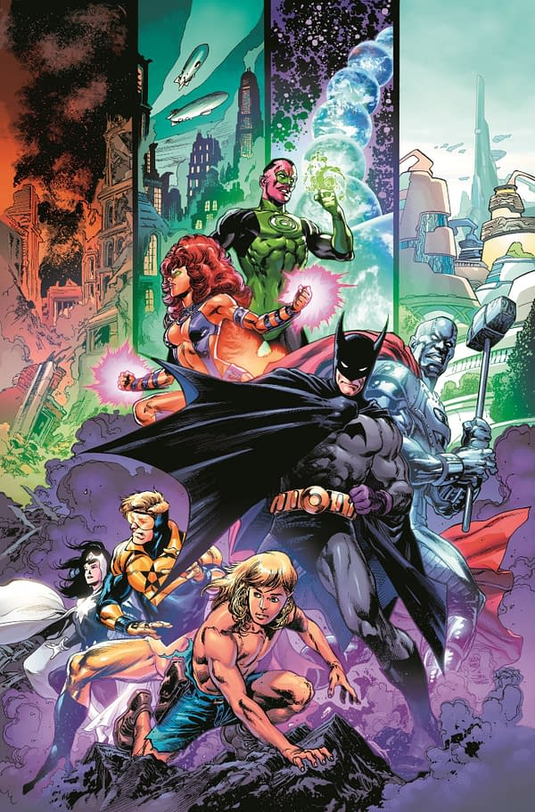 DC Comics Repackages Road To 5G As Generations: Shattered