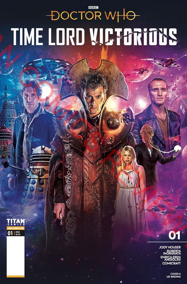 Doctor Who: Time Lord Victorious #1 cover. Credit: Titan Comics