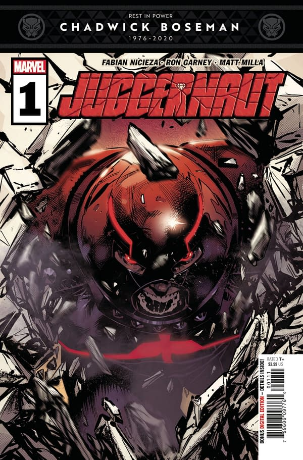 The cover to Juggernaut #1