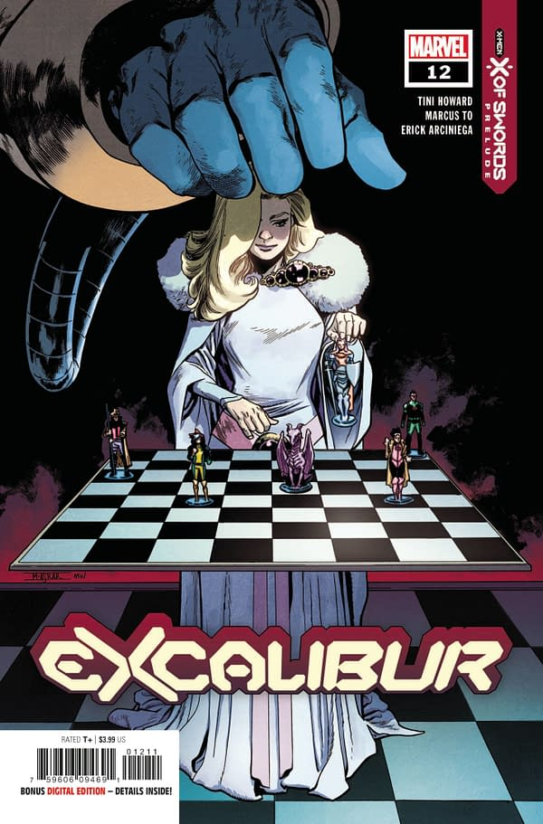 The cover to Excalibur #12.