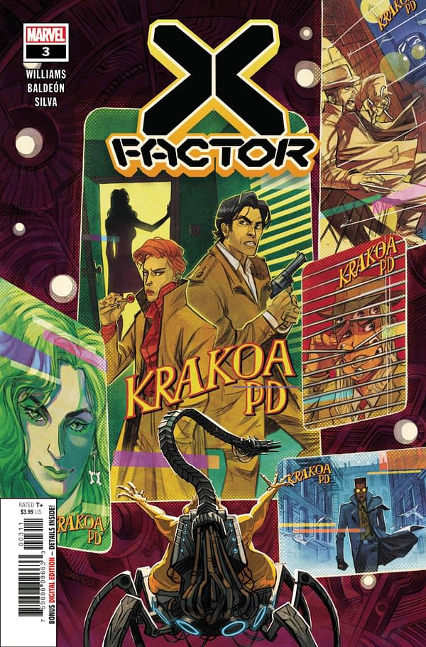 The cover to X-Factor #3
