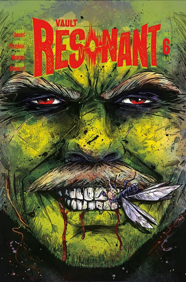 Resonant Back From Vault Comics in December, Now With Skylar Patridge