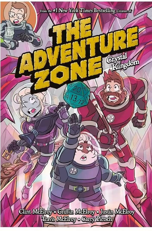 First Look At The Adventure Zone 4th Graphic Novel - Crystal Kingdom
