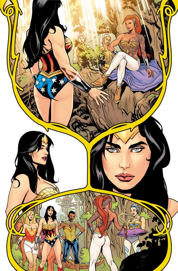 DC Shows Off Wonder Woman Earth One Vol 3 Artwork But Not Well Enough