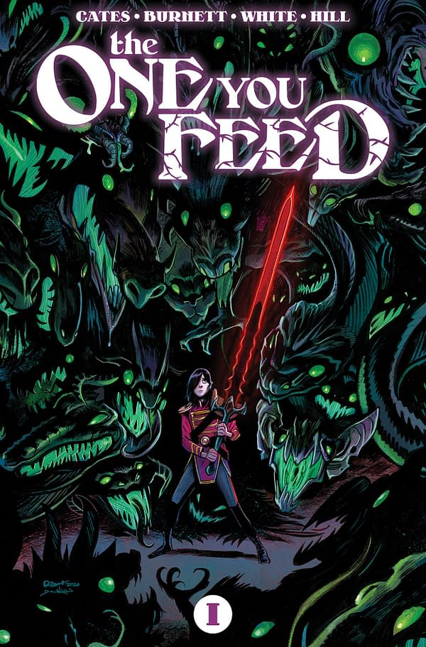 Donny Cates and Dylan Burnett's New Comic, The One You Feed, Out Now