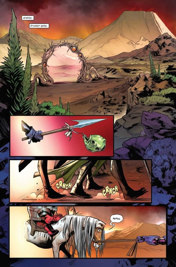 A preview page from Hellions #6 (X of Swords #18)