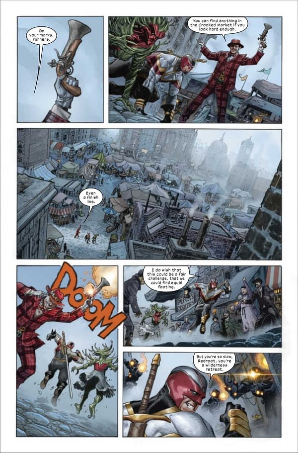 A preview page from X-Force #14