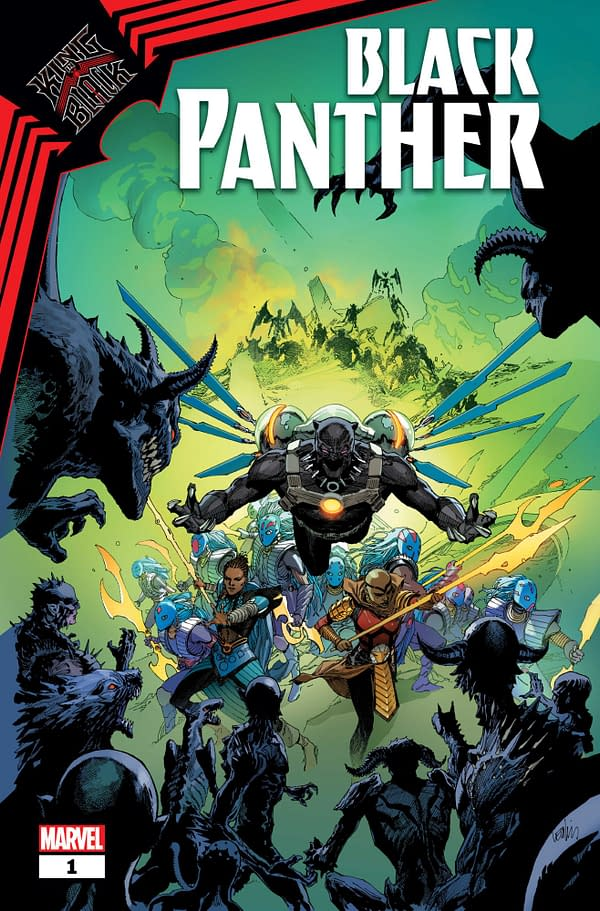 Marvel Comics Confirms The King In Black Panther And More
