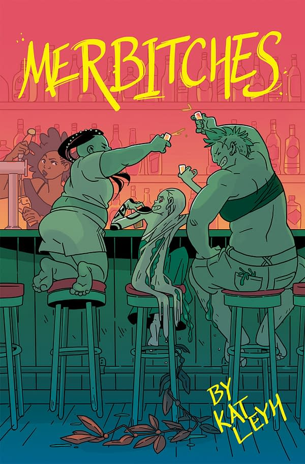Drinking Games With Kat Leyh's Thirsty Mermaids Graphic Novel