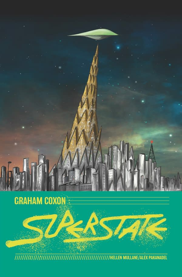 Blur's Graham Coxon Creating New Graphic Novel, Superstate