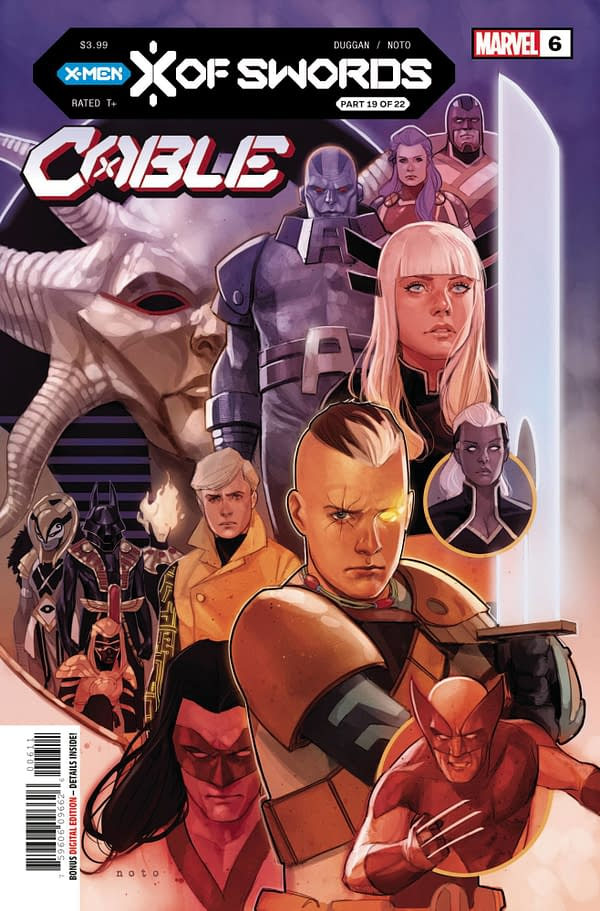 The cover to Cable #6