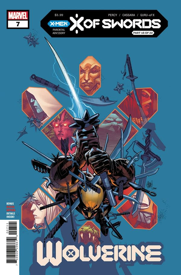 The cover to Wolverine #7