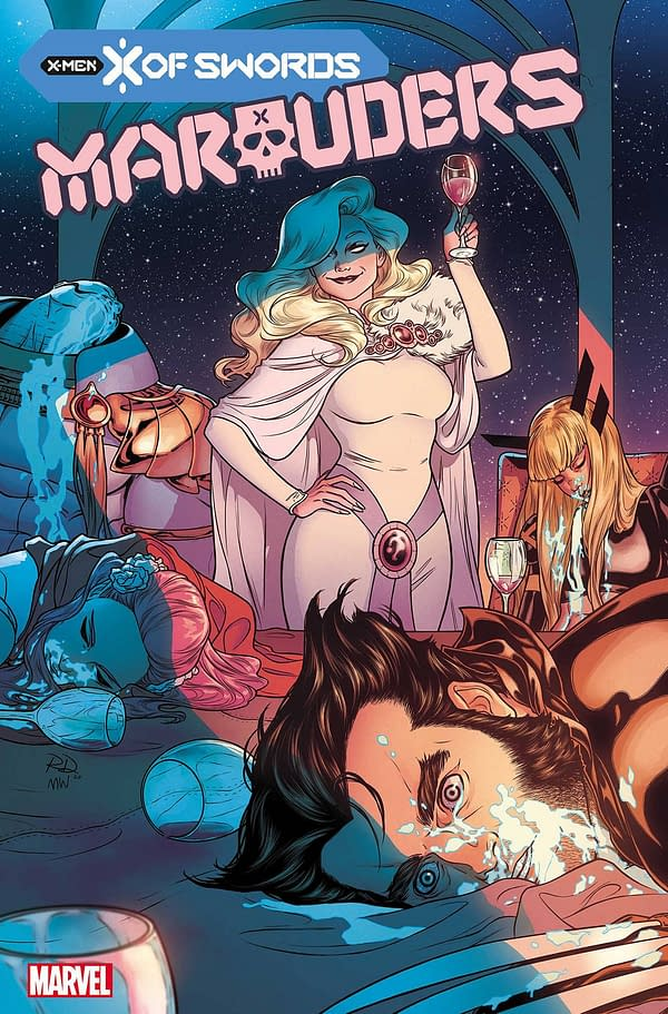The cover to Marauders #15