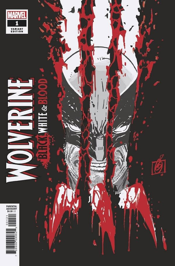 Some Copies Of Wolverine: Black, White And Blood #1 Missing 2 Pages