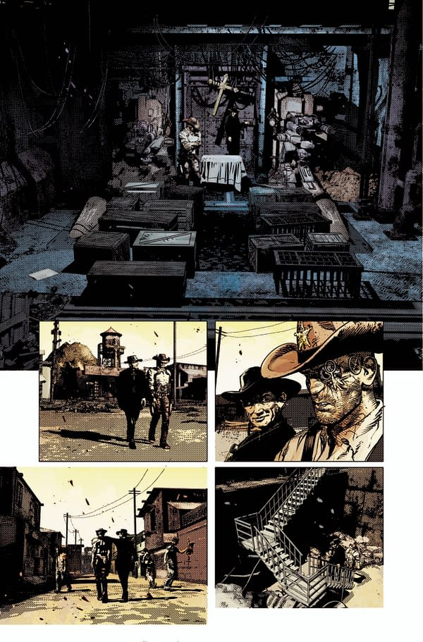 Redemption #1: Time for a Feminist SciFi Spaghetti Western