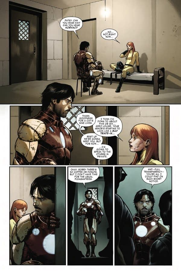 Return Of Frog-Man - And Scarlet Spider In This Week's Iron Man #5