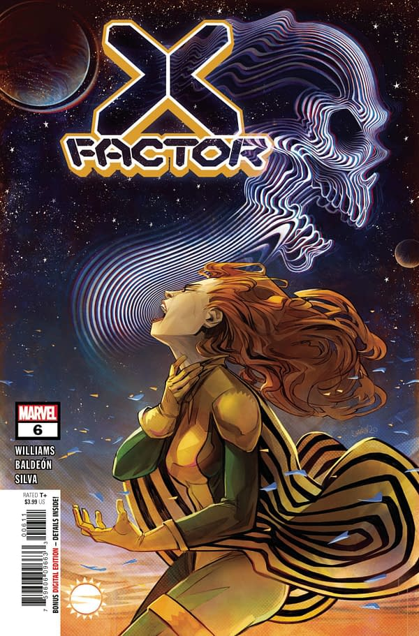 The cover to X-Factor #6