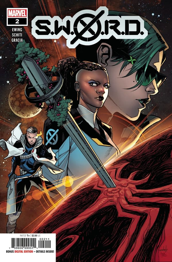 The cover to SWORD #2