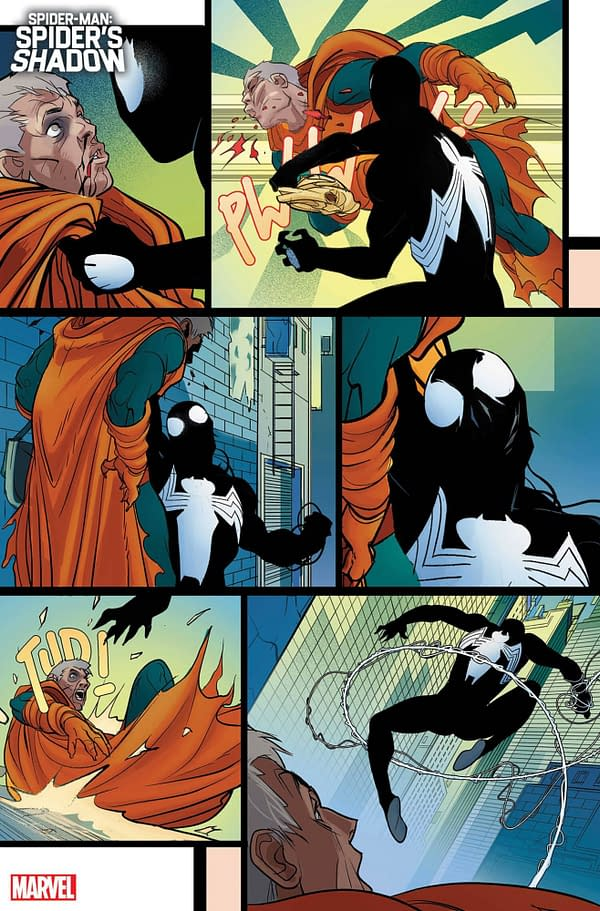 Chip Zdarsky/Pasqual Ferry's What If Peter Parker Became Venom Instead?