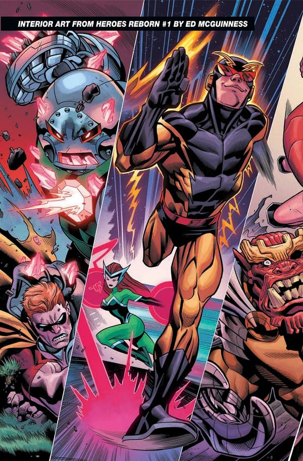 A New Preview Of Marvel Comics' Heroes Return From Ed McGuinness