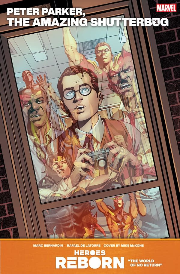 The cover to Marvel's Peter Parker, The Amazing Shutterbug #1.