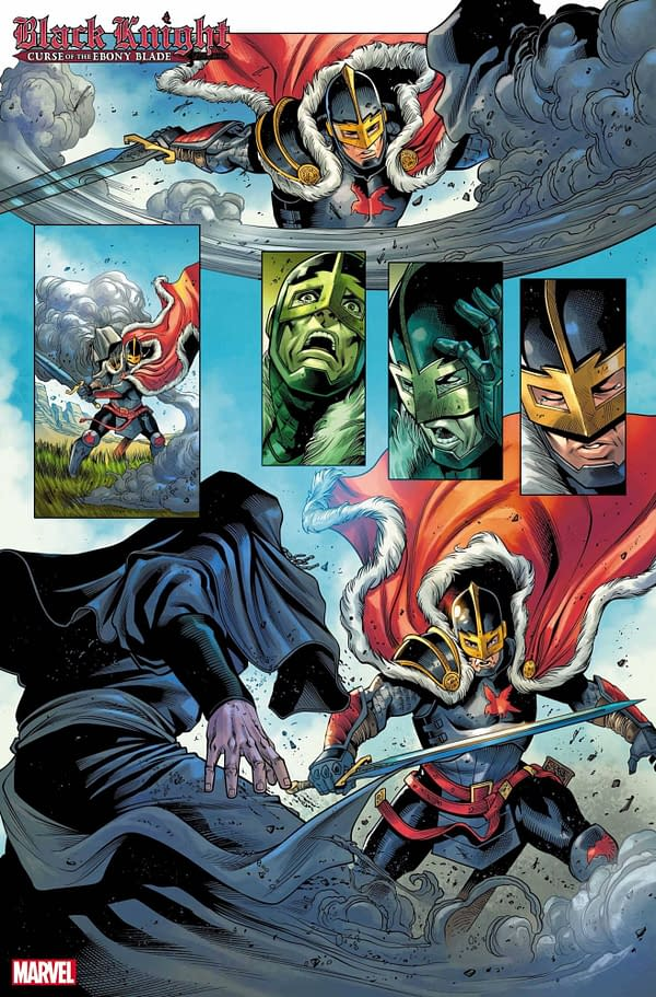 Today Is Stephanie Hans Day - See Her Black Knight Cover Set