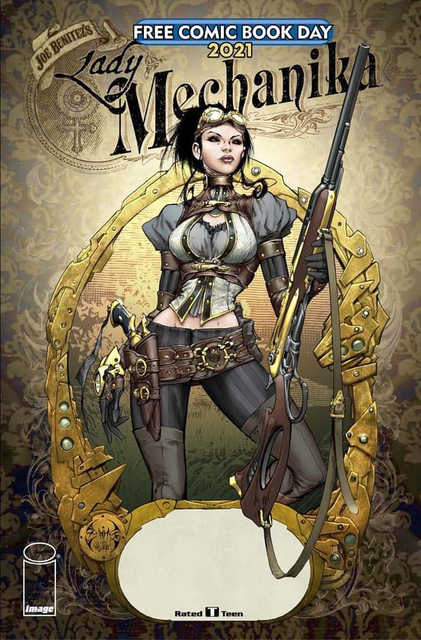 Joe Benitez's Lady Mechanika Moves To Image Comics