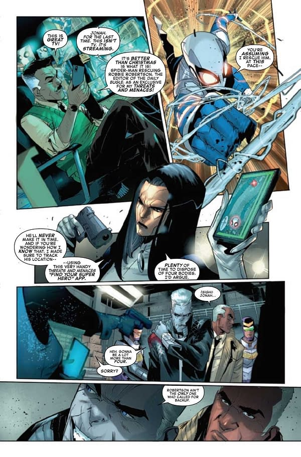 Interior preview page from AMAZING SPIDER-MAN #65
