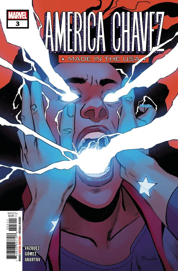 Cover image for AMERICA CHAVEZ MADE IN USA #3 (OF 5)