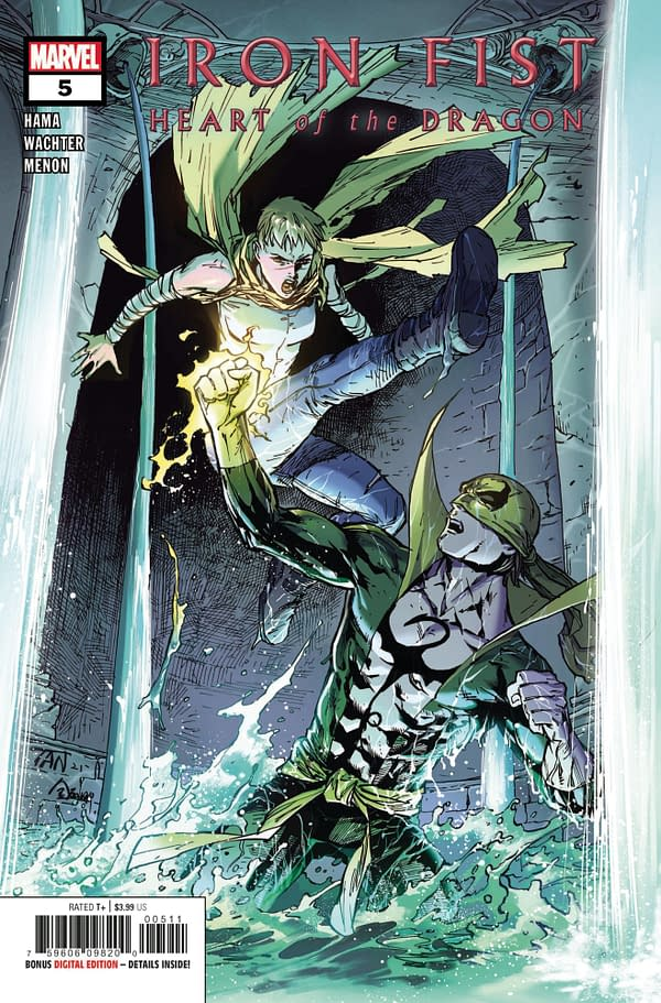 Cover image for IRON FIST HEART OF DRAGON #5 (OF 6)